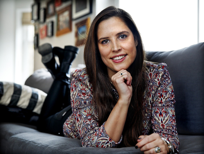 Lara Jongbloets had een baarmoedertumor.