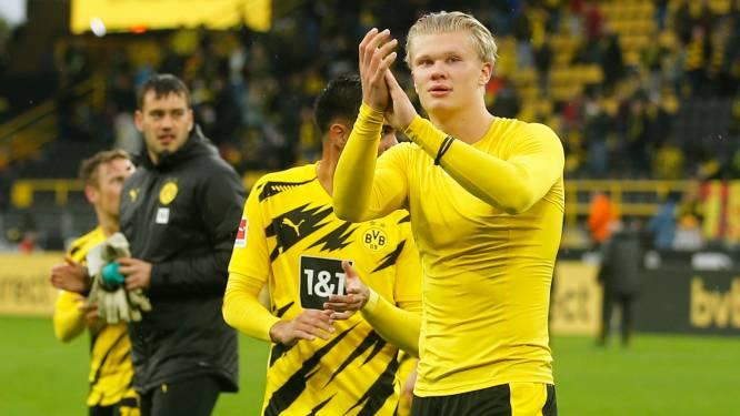 Dortmund zet Freiburg makkelijk opzij, Haaland scoort twee keer