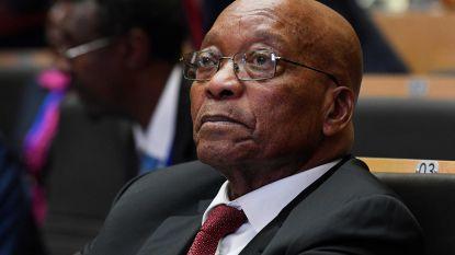 President Zuma reageert voor het eerst na oproep tot ontslag