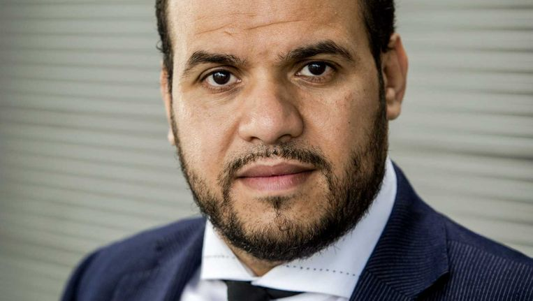 Yassin Elforkani: 'De teksten waarop IS zich baseert bestaan. Het gaat om de interpretatie.' Beeld anp