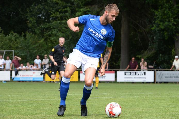 Danny Verbeek maakte de 0-2 tegen Vorstenbossche Boys.