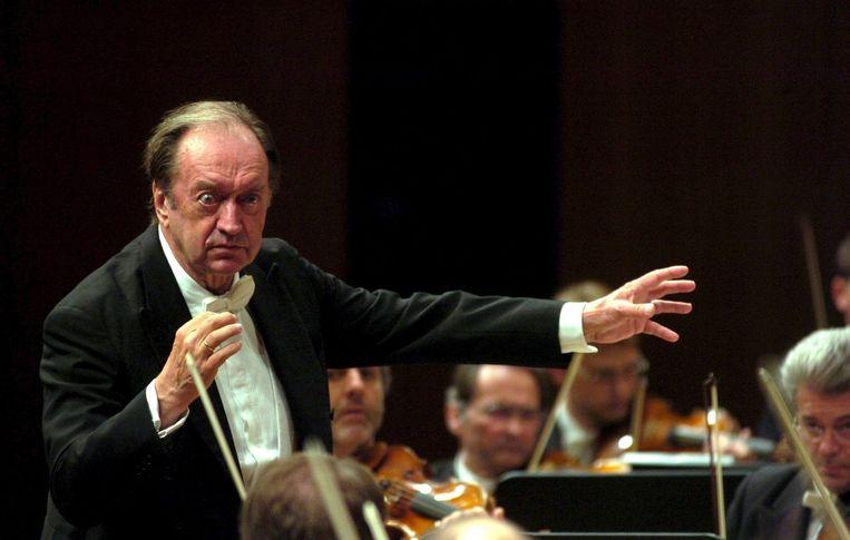 Nikolaus Harnoncourt in 2006. Beeld epa