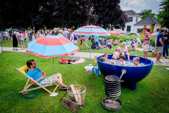 Archieffoto De Plantage, waar Film in 't Park volgende week plaatsvindt.