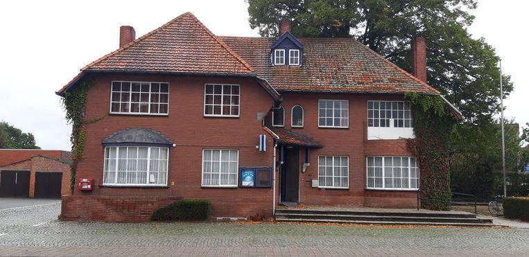Het oud gemeentehuis in Ravels.