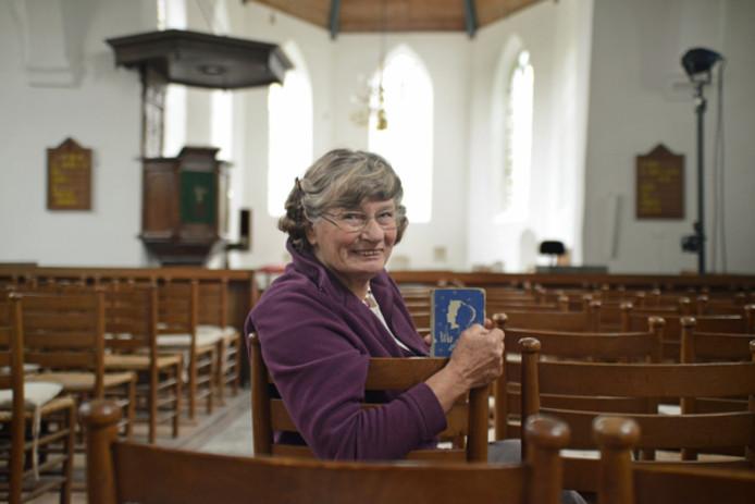 Nellie Nelisse was 53 jaar juffrouw op de zondagsschool in Noordgouwe.