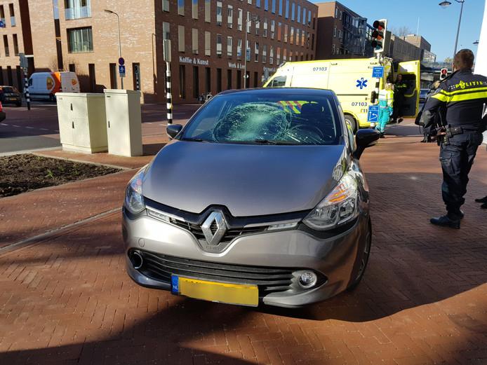 Ongeval in Arnhem.