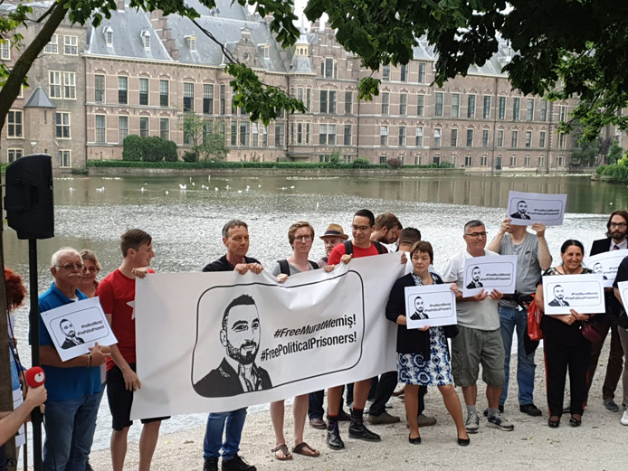 In Den Haag wordt woensdag gedemonstreerd voor de vrijlating van Murat Memis.
