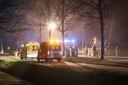 Bij het zware ongeval kwamen twee personen om het leven.