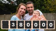 """Nationale sms-actie moet doodzieke baby Pia redden: """"Al meer dan 380.000 sms'jes verstuurd"""""""