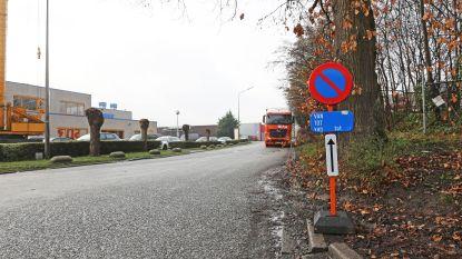 """Parkeerverbod van kracht in Industrielaan: """"Voetgangers riskeerden hier hun leven"""""""