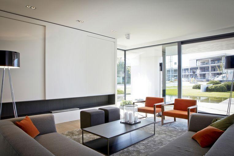 Door zijn compactheid haalt de woning goede resultaten qua energiezuinigheid.