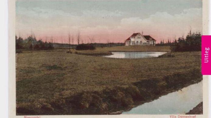 Villa Dennenhoef in vroeger jaren