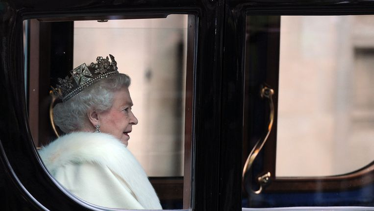 De Britse koningin Elizabeth II. Beeld afp