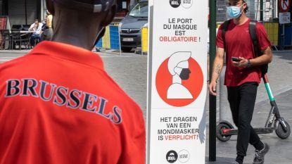 Vanaf vandaag mondmaskerplicht in heel het Brussels Gewest