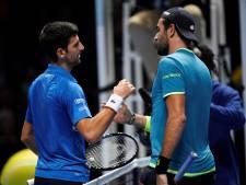 Djokovic débute le Masters par une promenade de santé face à Berrettini