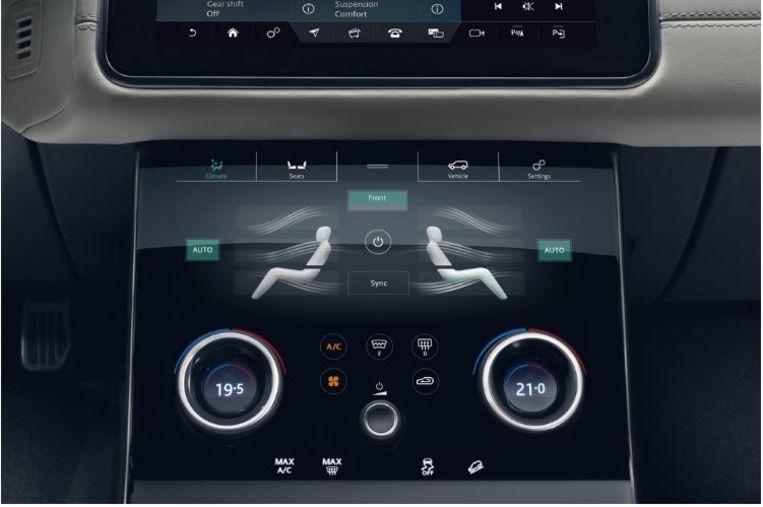 Airco van de Range Rover Velar