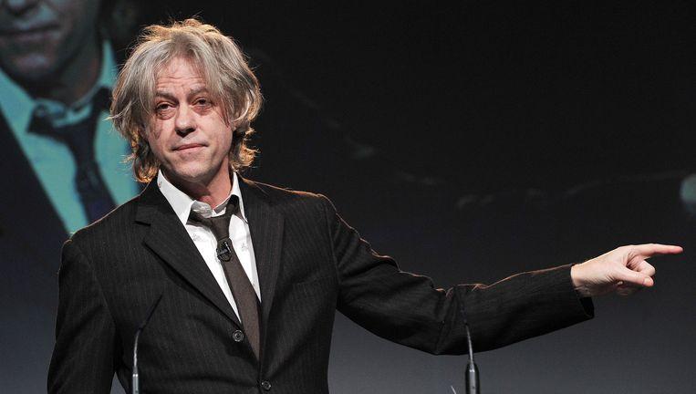 Donderdag werd er een uitgebreid excuus aan Bob Geldof (foto) en aan Band Aid uitgezonden op BBC 1, Radio 4 en World Service. Foto AFP Beeld afp