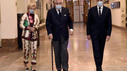 """Prins Laurent kampt met ernstige rugklachten: """"Dringend weer naar dokter"""""""