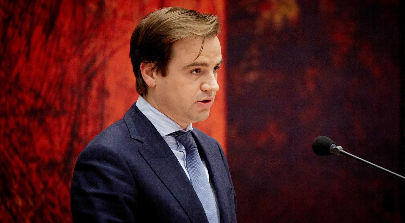 VVD-Kamerlid Malik Azmani.