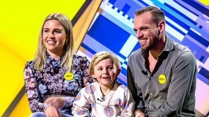 Kunnen Laurens en Joelle De Bock het gedrag van hun zoon Céril (5) voorspellen? Ontdek het in eerste aflevering van 'Dat Belooft Voor Later'
