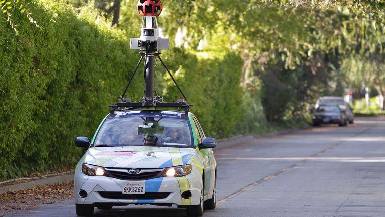 Een opnameauto van Google Street View. Beeld AP