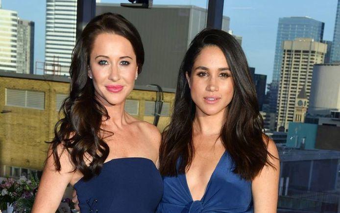 Meghan en haar goede vriendin en styliste, Jessica Mulroney.