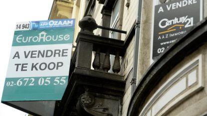 Gemiddelde huisprijs daalt in Brussel, terwijl appartementsprijs stijgt