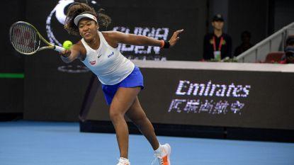 Osaka klopt Andreescu en mag naar halve finales WTA Peking