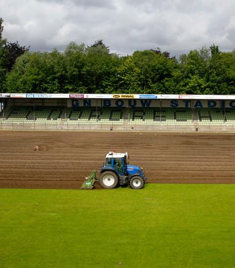 FC Dordrecht krijgt dan wel geen nieuw stadion, maar heeft wel het beste veld