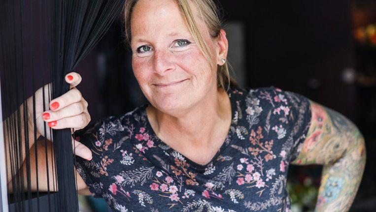 Jorma Bos werd sekswerker nadat haar relatie was gestopt en ze via datingapps regelmatig seks met mannen had Beeld Eva Plevier