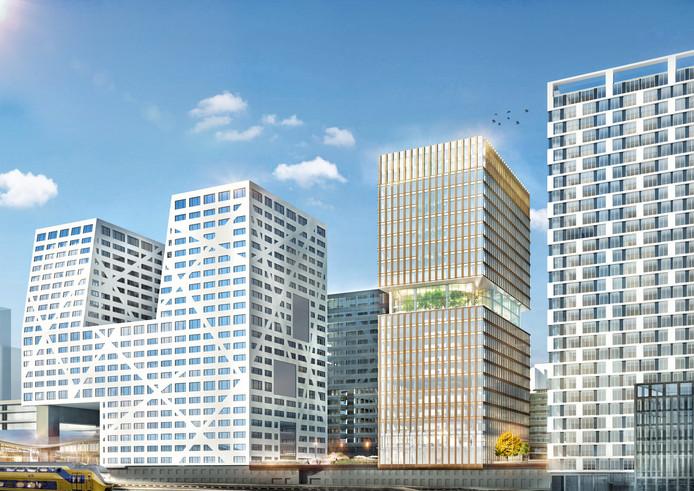 Ontwerp van Central Park in Utrecht.