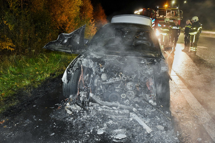 Autobrand Hilvarenbeek