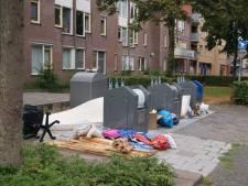 Vaker controle bij rommel-containers in Apeldoorn, camera's geen optie