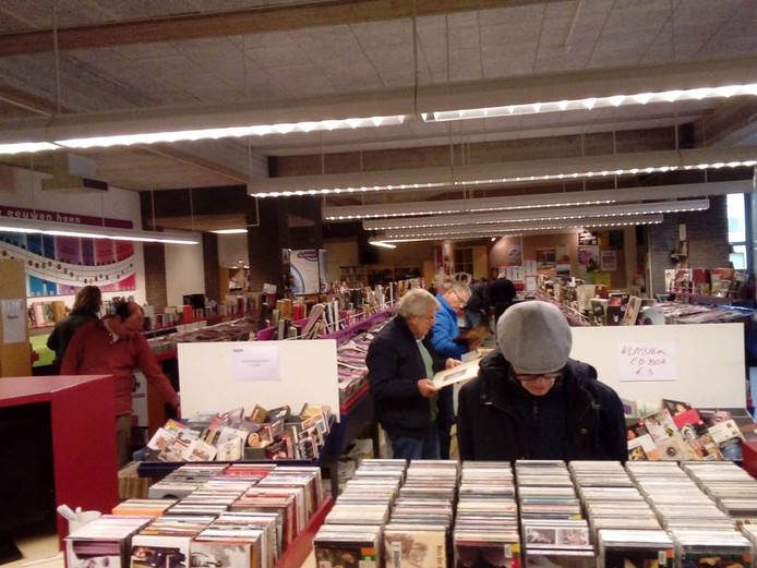 Afbeeldingsresultaat voor Muziekbank verkoopt cd's en lp's