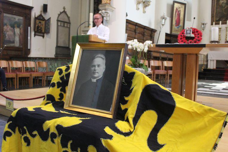 In de kerk van Erpe was er een herdenkingsmoment.
