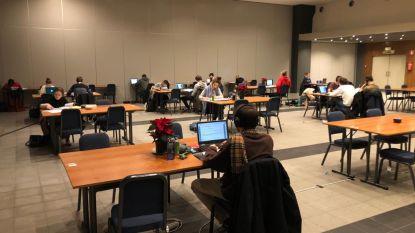 Schriftelijke examens Arteveldehogeschool in ICC en campus Watersportbaan