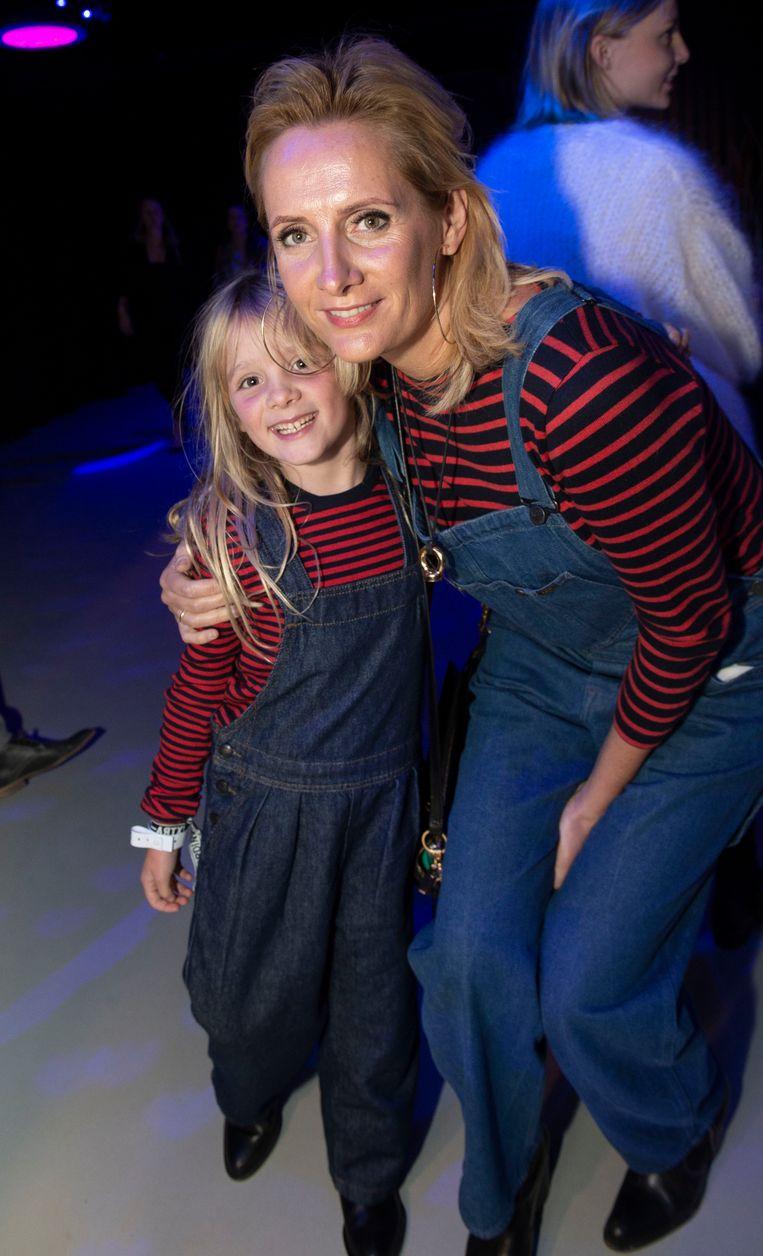 Sofie Dumont en dochter Grace Lio.