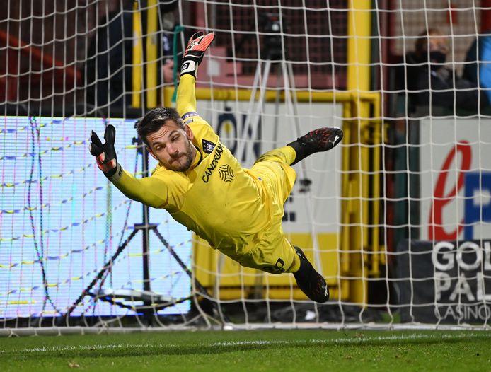 Hendrik Van Crombrugge a préservé l'avantage d'Anderlecht après le but d'ouverture.