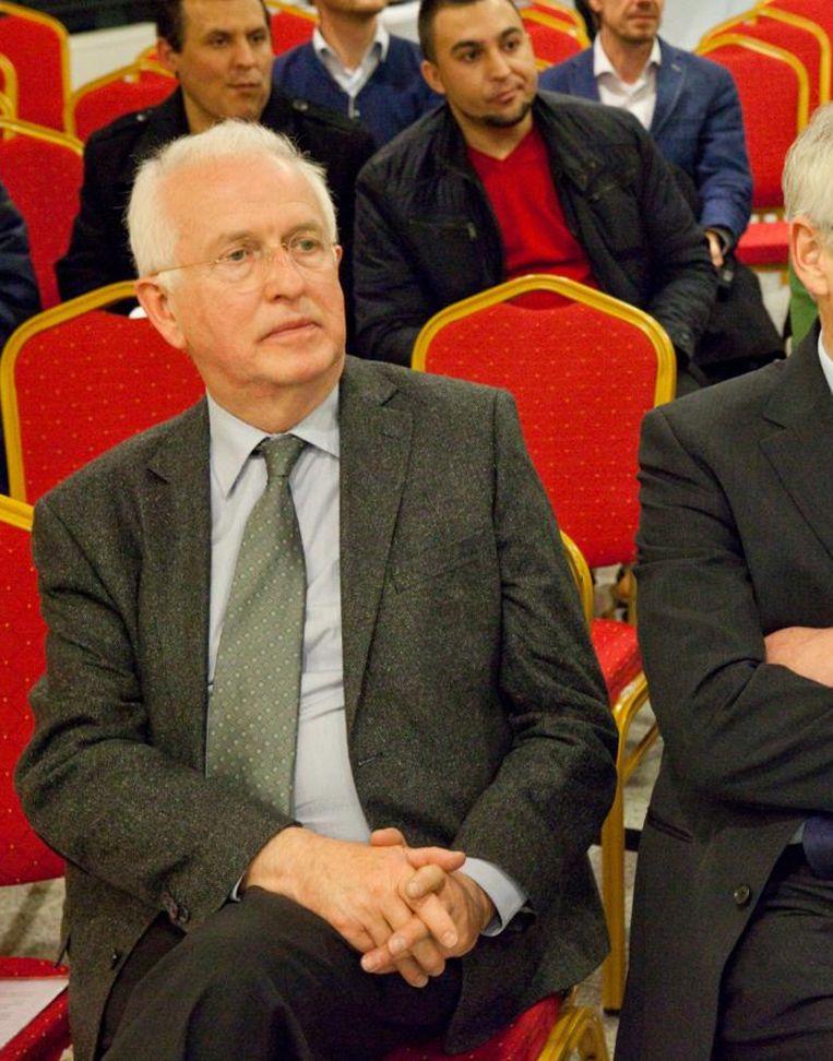 Han Entzinger (links) Beeld Hollandse Hoogte