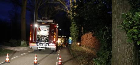Bestuurder gewond bij eenzijdig ongeluk in Sint Anthonis