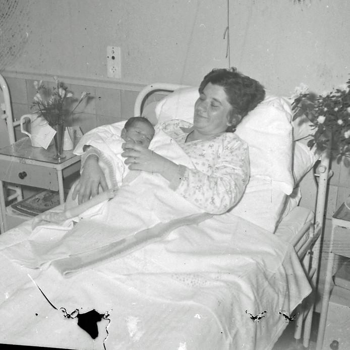 De 2000e inwoner van Maarheeze werd in december 1961 geboren