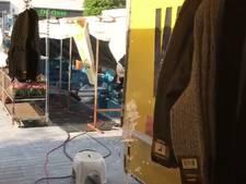 Waterschade op Ermelose markt  door spontaan spuitende fonteinen