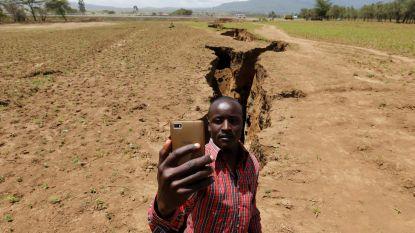 Het Afrikaanse continent splitst zich stilaan in tweeën