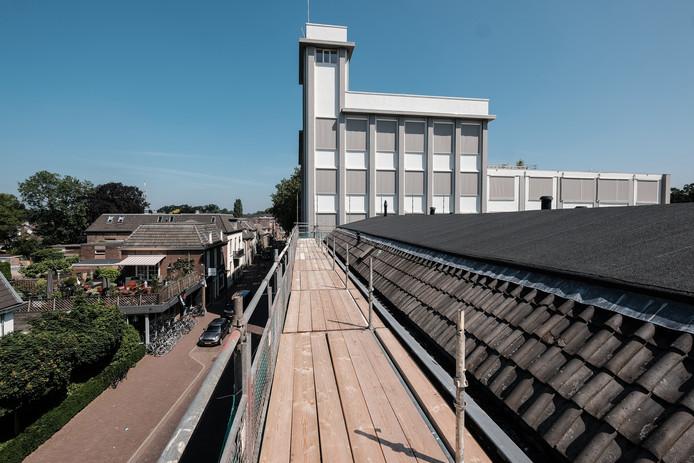 Het torentje van het gemeentehuis van Zevenaar.