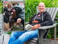 Cor (61) ketende zich vast aan auto van minister Van Nieuwenhuizen: 'Ik zal niet stoppen tot we minder vliegen'