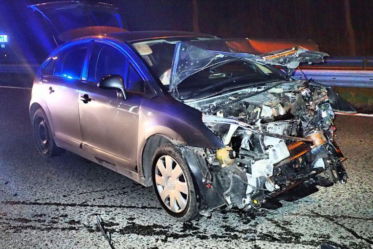 Het ongeval gebeurde op 3 maart op de expresweg tussen Ninove en Aalst.