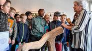 Kunstenaars werken met kinderen Konkelgoed