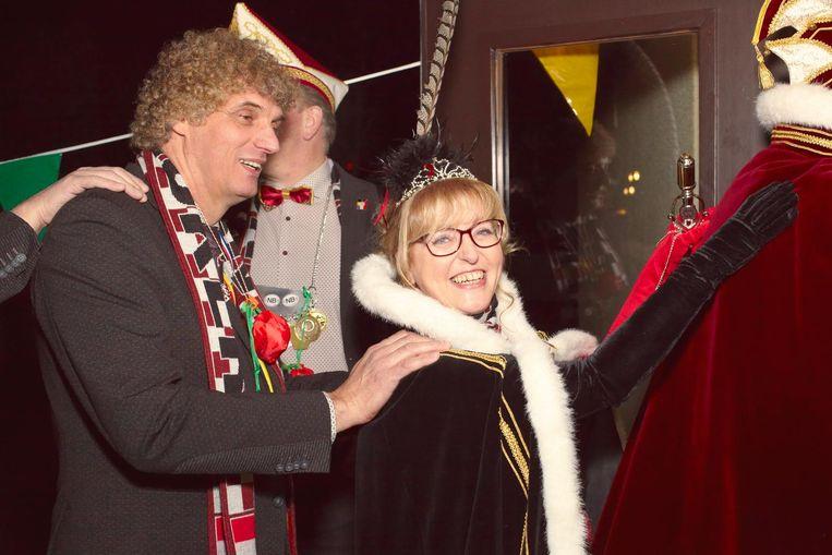 Prinses Jeanny van carnavalsvereniging Smokkelgat uit Baarle-Nassau. Beeld Daniel Cohen
