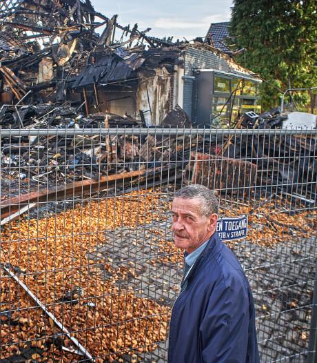 René van Lent van de uitgebrande buurtsuper wil zijn levenswerk wel afmaken