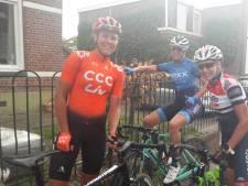 Evy Kuijpers pakte Zuid-Nederlandse wielertitel na vlucht met twee andere 'powervrouwen'